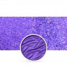 Finetec : Coliro : Pearlcolors : Mica Watercolour Paint : 30mm Refill : Vibrant Purple M046