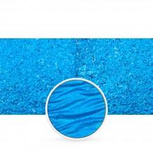 Finetec : Coliro : Pearlcolors : Mica Watercolour Paint : 30mm Refill : Vibrant Blue M047