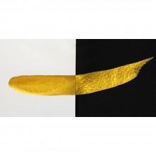 Finetec Coliro : Pearlcolors : Mica Watercolour Paint : 30mm Refill : Arabic Gold M630