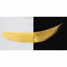 Finetec : Coliro : Pearlcolors : Mica Watercolour Paint : 30mm Refill : Gold Pearl M640