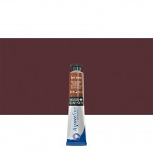 Daler Rowney : Aquafine Watercolour Paint : 8ml : Burnt Sienna