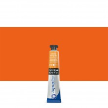 Daler Rowney : Aquafine Watercolour Paint : 8ml : Cadmium Orange Hue