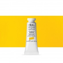 Winsor & Newton : Designer Gouache Paint : 14ml : Brilliant Yellow
