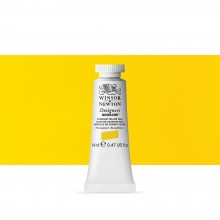 Winsor & Newton : Designer Gouache Paint : 14ml : Cadmium Yellow Pale
