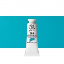 Winsor & Newton : Designer Gouache Paint : 14ml : Cobalt Turquoise Light