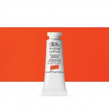 Winsor & Newton : Designer Gouache Paint : 14ml : Orange Lake Deep