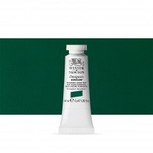Winsor & Newton : Designer Gouache Paint : 14ml : Permanent Green Deep