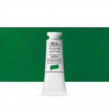 Winsor & Newton : Designer Gouache Paint : 14ml : Permanent Green Middle