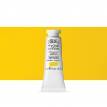 Winsor & Newton : Designer Gouache Paint : 14ml : Spectrum Yellow