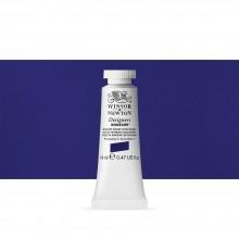 Winsor & Newton : Designer Gouache Paint : 14ml : Winsor Violet (Dioxazine)