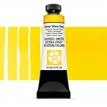 Daniel Smith : Watercolour Paint : 15ml : Hansa Yellow Deep : Series 1