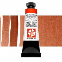Daniel Smith : Watercolour Paint : 15ml : Italian Burnt Sienna : Series 2
