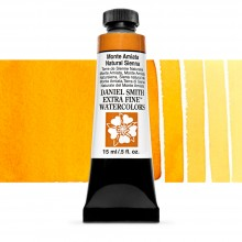Daniel Smith : Watercolour Paint : 15ml : Monte Amiata Natural Sienna : Series 1