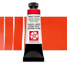 Daniel Smith : Watercolour Paint : 15ml : Organic Vermilion : Series 2