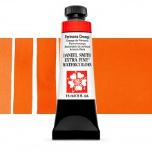 Daniel Smith : Watercolour Paint : 15ml : Perinone Orange : Series 3
