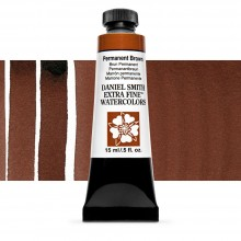 Daniel Smith : Watercolour Paint : 15ml : Permanent Brown : Series 2