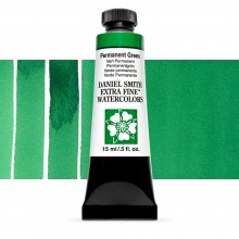 Daniel Smith : Watercolour Paint : 15ml : Permanent Green : Series 1