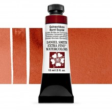 Daniel Smith : Watercolour Paint : 15ml : Quinacridone Burnt Scarlet : Series 2