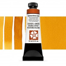 Daniel Smith : Watercolour Paint : 15ml : Quinacridone Gold : Series 2