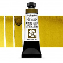 Daniel Smith : Watercolour Paint : 15ml : Rich Green Gold : Series 2