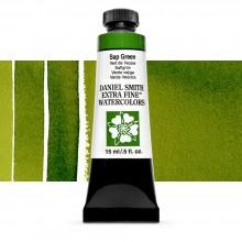 Daniel Smith : Watercolour Paint : 15ml : Sap Green : Series 2