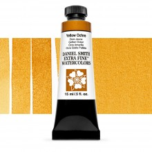 Daniel Smith : Watercolour Paint : 15ml : Yellow Ochre : Series 1