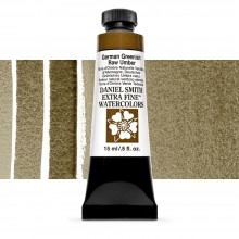 Daniel Smith : Watercolour Paint : 15ml : German Greenish Raw Umber : Series 1