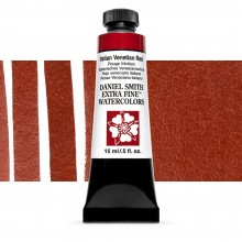 Daniel Smith : Watercolour Paint : 15ml : Italian Venetian Red : Series 1