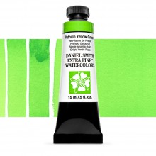 Daniel Smith : Watercolour Paint : 15ml : Phthalo Yellow Green : Series 1