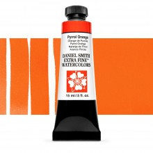 Daniel Smith : Watercolour Paint : 15ml : Pyrrol Orange : Series 2