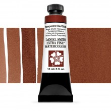 Daniel Smith Watercolour 15ml : Transparent Red Oxide S1