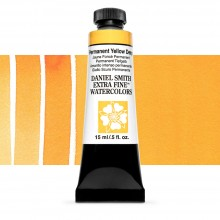 Daniel Smith : Watercolour Paint : 15ml : Permanent Yellow Deep : Series 2