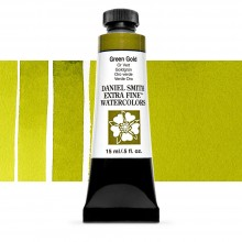 Daniel Smith : Watercolour Paint : 15ml : Green Gold : Series 2