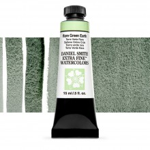 Daniel Smith : Watercolour Paint : 15ml : Rare Green Earth : Series 2