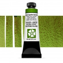 Daniel Smith : Watercolour Paint : 15ml : Green Apatite Genuine : b Series 3