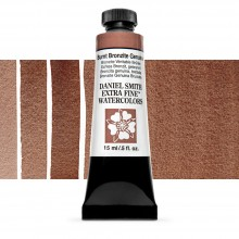 Daniel Smith : Watercolour Paint : 15ml : Burnt Bronzite Genuine : b Series 3