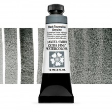 Daniel Smith : Watercolour Paint : 15ml : Black Tourmaline : b Series 3