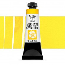 Daniel Smith : Watercolour Paint : 15ml : Azo Yellow : Series 3
