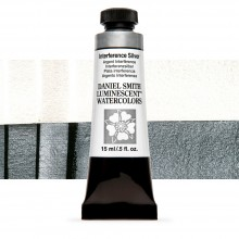 Daniel Smith : Luminescent Watercolour Paint : 15ml : Interference Silver : Series 1