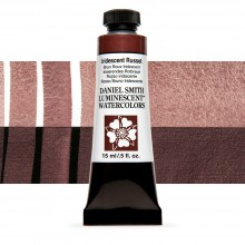 Daniel Smith : Luminescent Watercolour Paint : 15ml : Iridescent Russet : Series 1