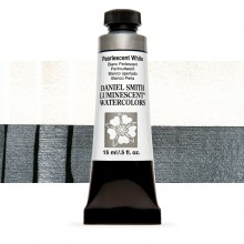 Daniel Smith : Luminescent Watercolour Paint : 15ml : Pearlescent White : Series 1