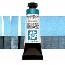 Daniel Smith : Luminescent Watercolour Paint : 15ml : Duochrome Blue Pearl : Series 1