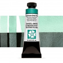 Daniel Smith : Luminescent Watercolour Paint : 15ml : Duochrome Green Pearl : Series 1