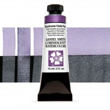 Daniel Smith : Luminescent Watercolour Paint : 15ml : Duochrome Violet Pearl : Series 1