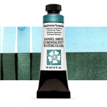 Daniel Smith : Luminescent Watercolour Paint : 15ml : Duochrome Turquoise : Series 1