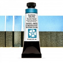 Daniel Smith : Luminescent Watercolour Paint : 15ml : Duochrome Cabo Blue : Series 1