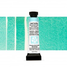 Daniel Smith : Watercolour Paint : 5ml : Cobalt Teal Blue
