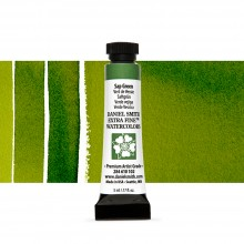 Daniel Smith : Watercolour Paint : 5ml : Sap Green