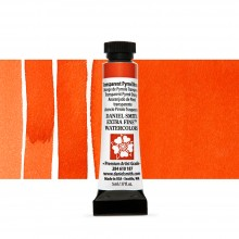 Daniel Smith : Watercolour Paint : 5ml : Transparent Pyrrol Orange