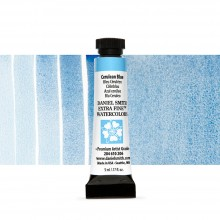 Daniel Smith : Watercolour Paint : 5ml : Cerulean Blue